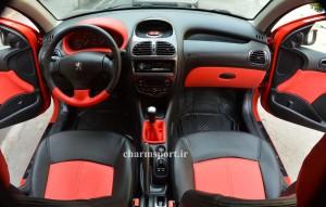 اسپرت 206 , طراحی داخل خودرو
